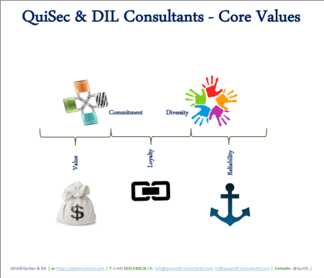 QuiSec & DIL Core Values