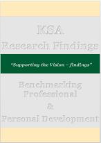 KSA Vision 2030 Fiindings