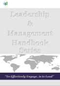 QuiSec & DIL Leadership & Management Handbook Series