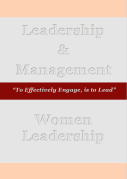 QuiSec & DIL Leadership & Management Women